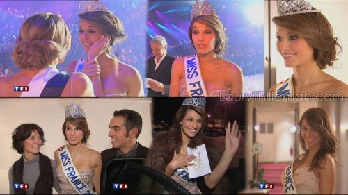 Video   Laury Thilleman au JT 13h 05.12.10