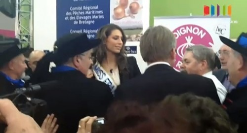 Video   Laury Thilleman au salon de lagriculture 2011