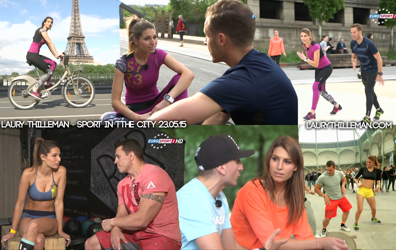 Laury-Thilleman-Sport-in-the-city-230514-Eurosport