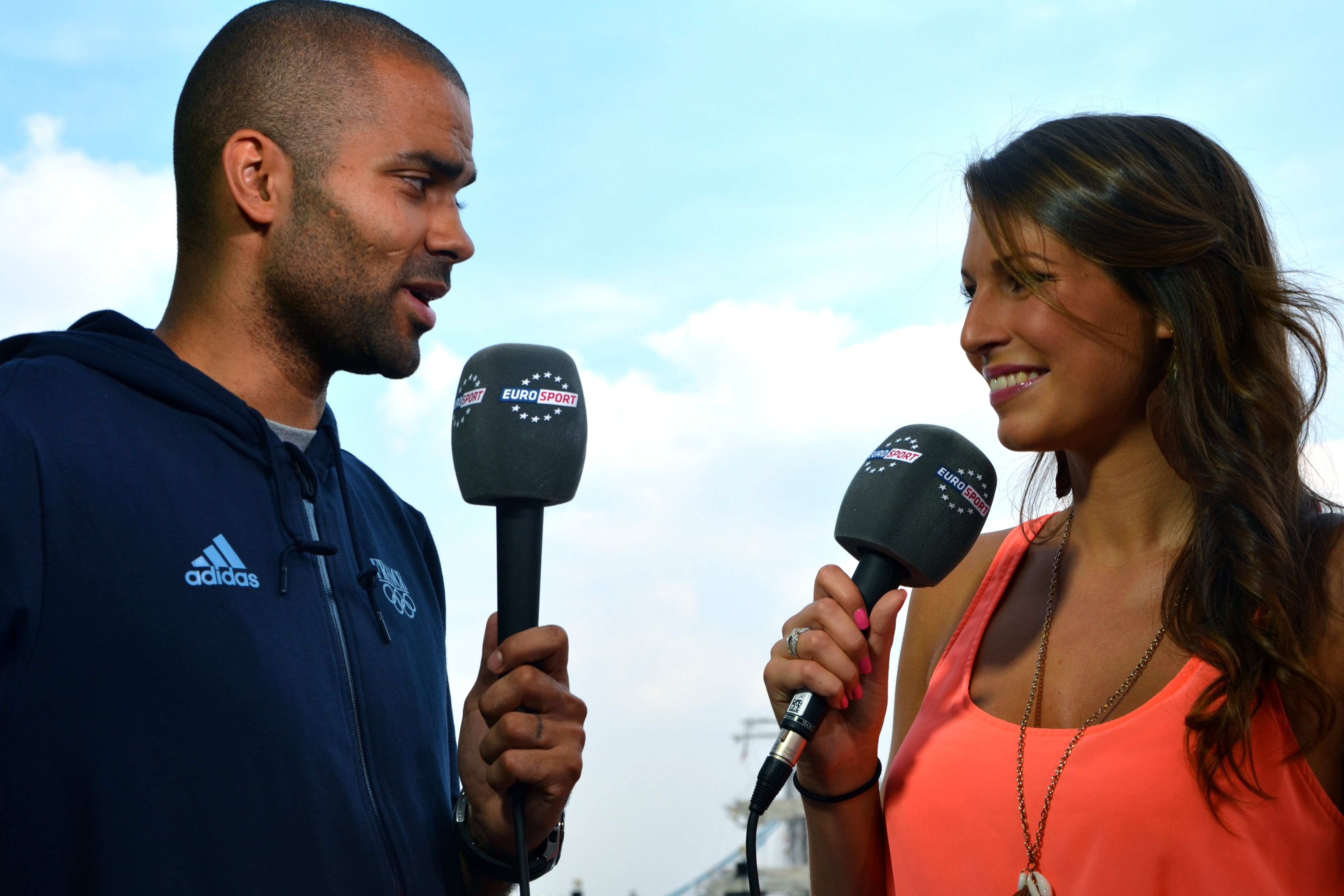 Laury-Thilleman-interview-Tony-Parker