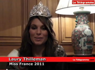 Interview Laury Thilleman pour LeTelegramme.com