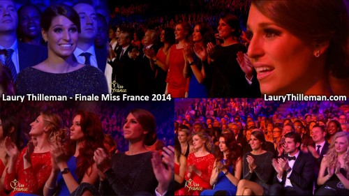 Laury Thilleman lors de la finale Miss France 2014 (photos)