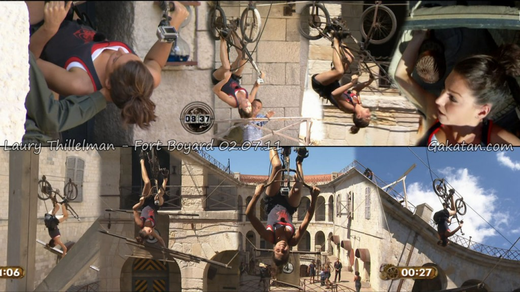 photos laury thilleman et les miss france fort boyard. Black Bedroom Furniture Sets. Home Design Ideas